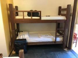 Beliche em quarto do Praia do Forte Hostel
