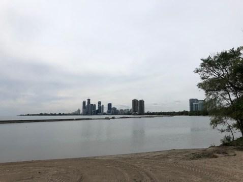 Praia de Sunnyside, em Toronto