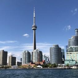 CN Tower vista de Toronto Islands