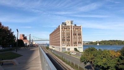 Ponte Jacques-Cartier, vista de Old Port
