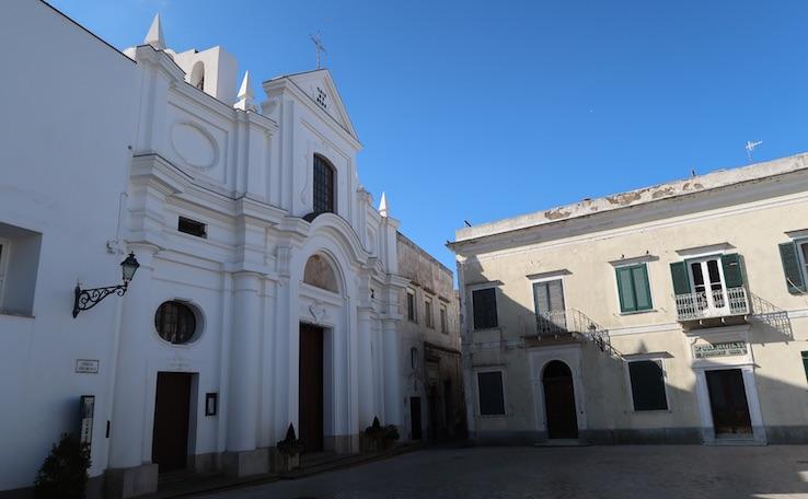 Igreja no Centro Histórico de Anacapri