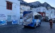 Ônibus na Marina Grande
