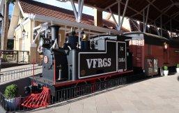 Locomotiva da Viação Férrea do Rio Grande do Sul