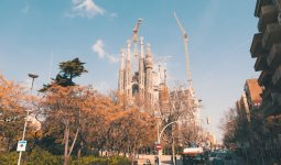 Templo da Sagrada Família, no Eixample