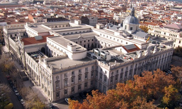 Edificio del Tribunal Supremo. Crédito: Wikimedia