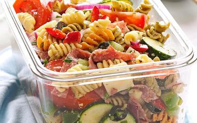 Cocina con Buenmercadoacasa: Ensalada arcoiris de pasta, verduras y atún