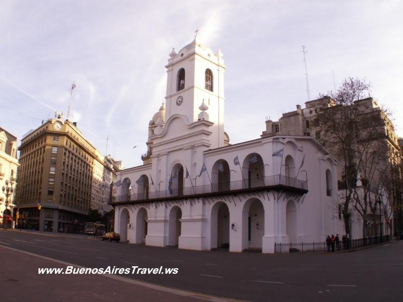 Casa Rosada Catedral Metropolitana Congreso de la Nacion Plaza de Mayo Cabildo Cafe Tortoni