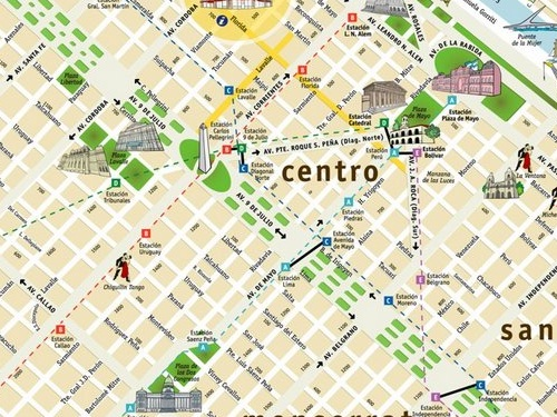 Images and Places Pictures and Info buenos aires mapa