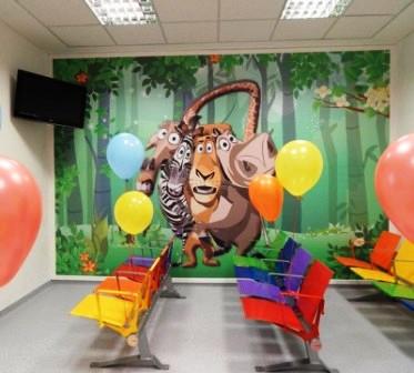 Nueva sala de espera en pediatra del Hospital Rivadavia
