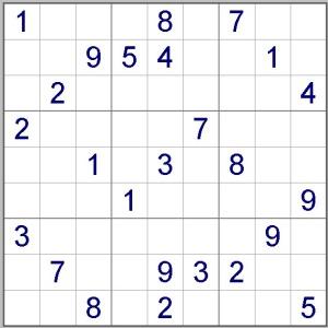 Sudoku Bajar ejemplos de sudoku gratis Pasatiempo