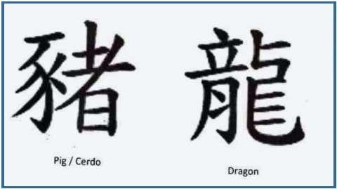 Tatuajes De Letras Chinas Diseños De Tattoos De Letras Chinas