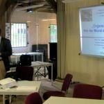 Prof. Dr. Jan Roigas während seines Vortrags