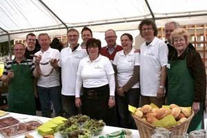 Das Team des Bürgerfrühstücks 2013