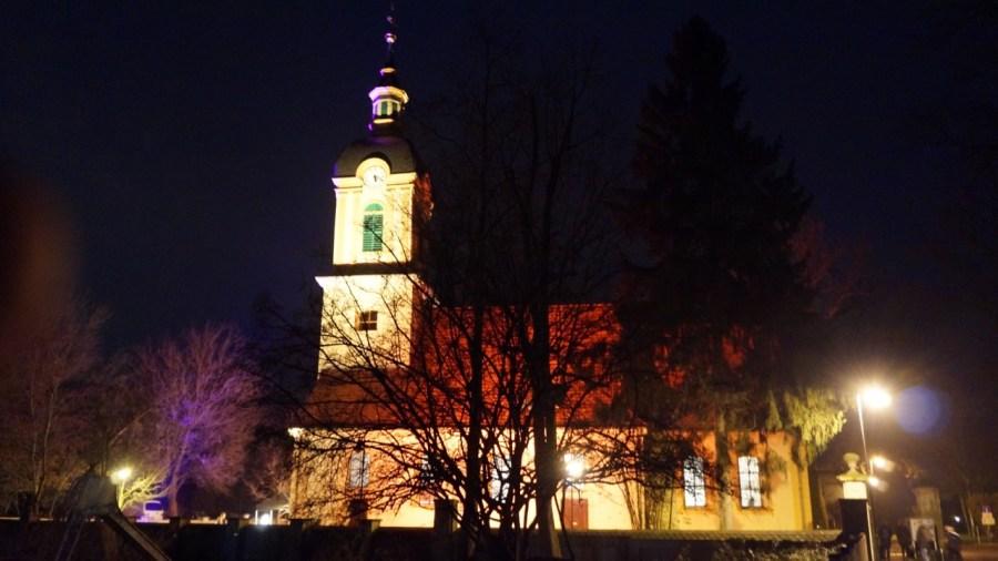 Die Schloßkirche erstrahlte zur Jahresvollversammlung im schönsten Lichte.