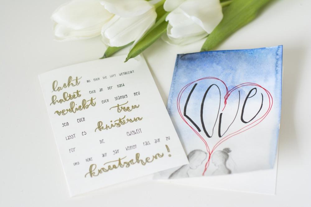 Hochzeitskarten Schne Sprche und tolle Gestaltung