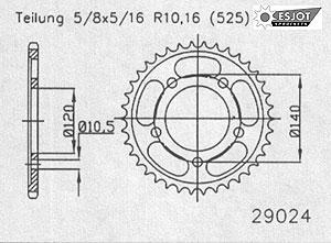 Kit Suzuki DL 650 V-Strom ´04-06-178-K