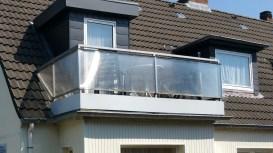 Balkon vom Wohnzimmer ausgehend