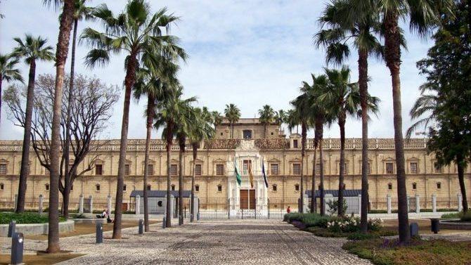 Parlamento celebra 35 aniversario con Pleno Institucional en Alcázar de Sevilla
