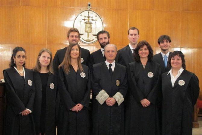 Seis nuevos jueces juran el cargo procedentes de la 67 Escuela Judicial