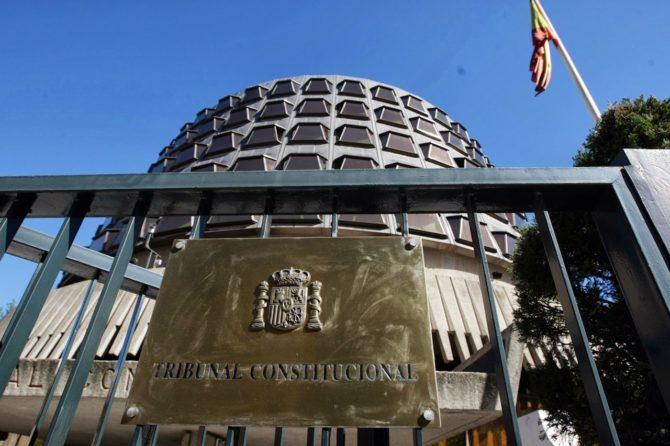 El Tribunal Constitucional vuelve al trabajo el 6 de septiembre