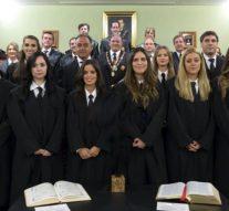 El Colegio de Abogados de Granada ficha a 39 nuevos letrados