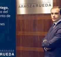 Bufete Araoz & Rueda incorpora al abogado Israel de Diego