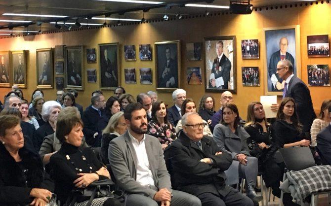 El ICAV homenajea a los abogados fallecidos en 2017
