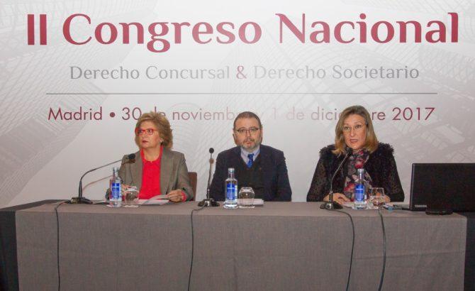 Ignacio Sancho Gargallo clausura II Congreso Nacional de Derecho Concursal