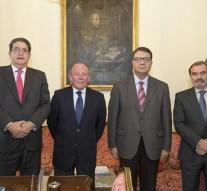 Reconocen a Enrique Henares y Francisco Ciudad Martín con la Cruz San Raimundo de Peñafort