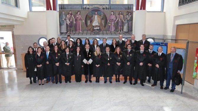 13 nuevos letrados se incorporan en el Colegio de Abogados de Málaga