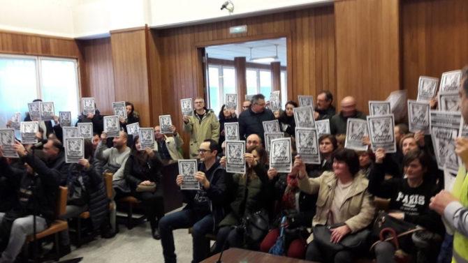 Abogacía gallega habla con representantes del comité de huelga de Justicia