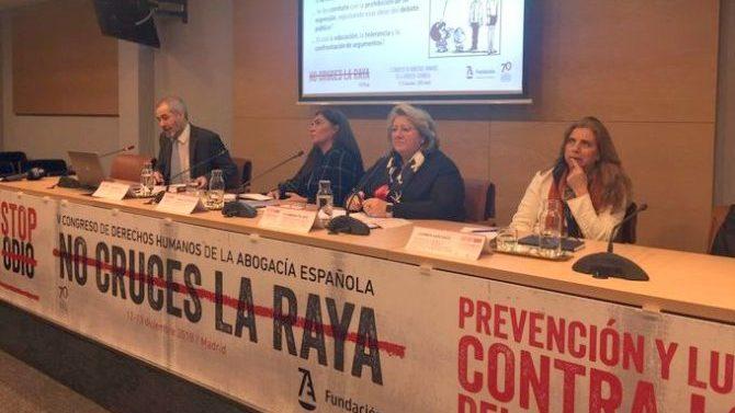 La Abogacía Española lanza la campaña 'STOPodio' para luchar contra la discriminación