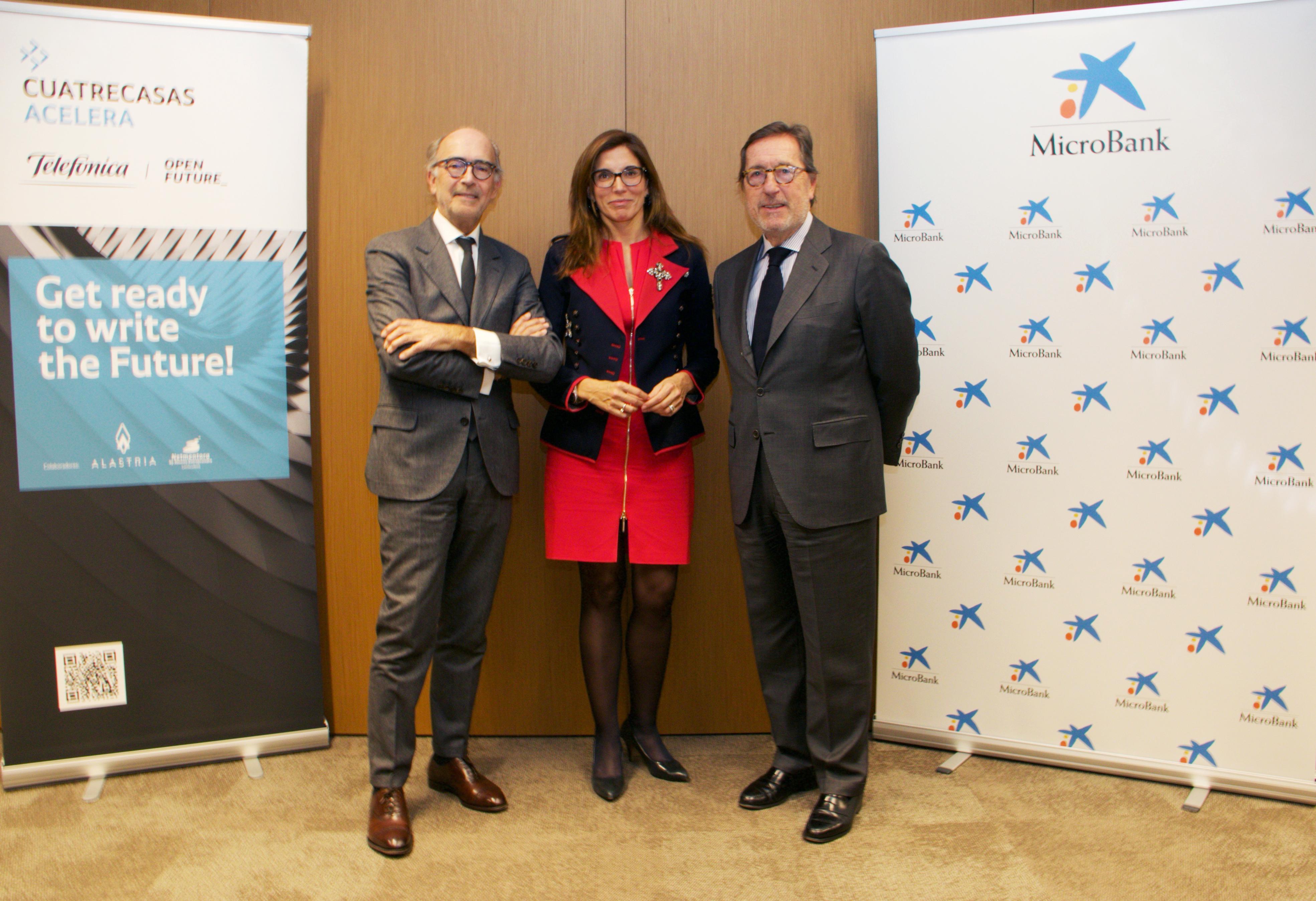 Cuatrecasas y MicroBank impulsan el emprendimiento innovador