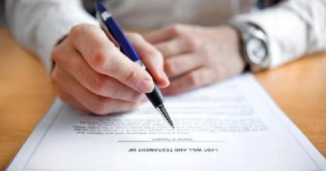 ¿Cómo hacer un testamento en España?
