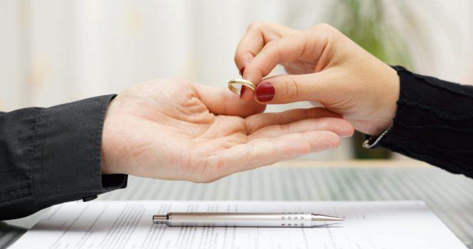 Menos divorcios y separaciones en el inicio de 2020