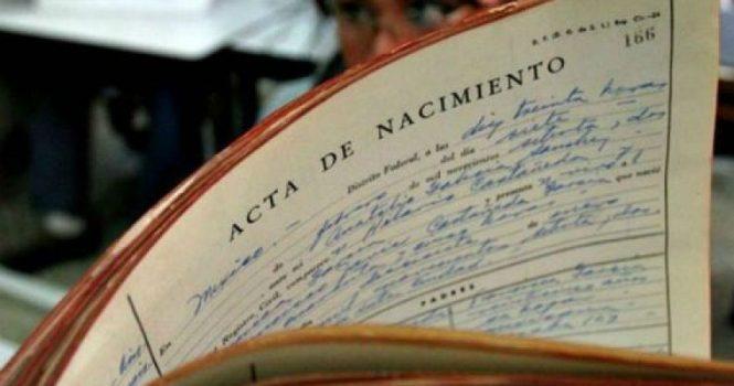 Aprobada la creación de un Registro Civil Único