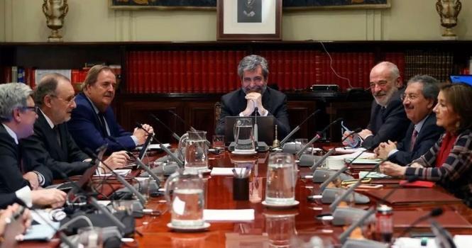 El PP propone sin éxito renovar el CGPJ con nuevo sistema