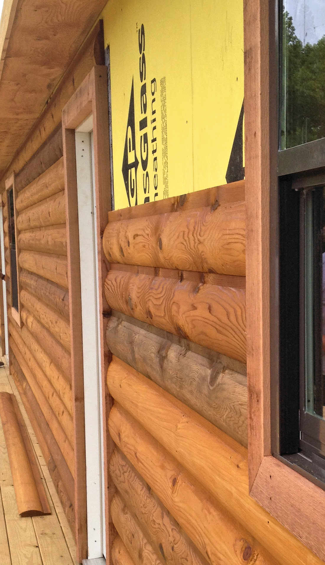 Log Cabin Cedar Siding