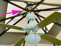ceiling fan in gazebo in Buffalo NY | Buffalo ...