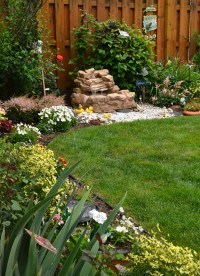 Slow-growing shrubs create low-maintenance garden ...