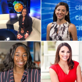 Grid photo of 4 new reporters coming to WKBW-TV this June.