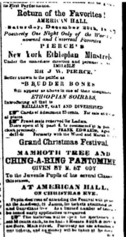 An 1847 Christmas For Buffalo
