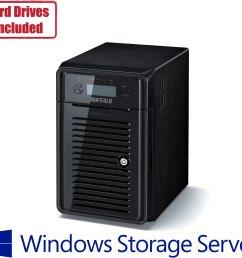 buffalo s ws5020 network attached storage with windows storage server 2016 [ 1698 x 1442 Pixel ]
