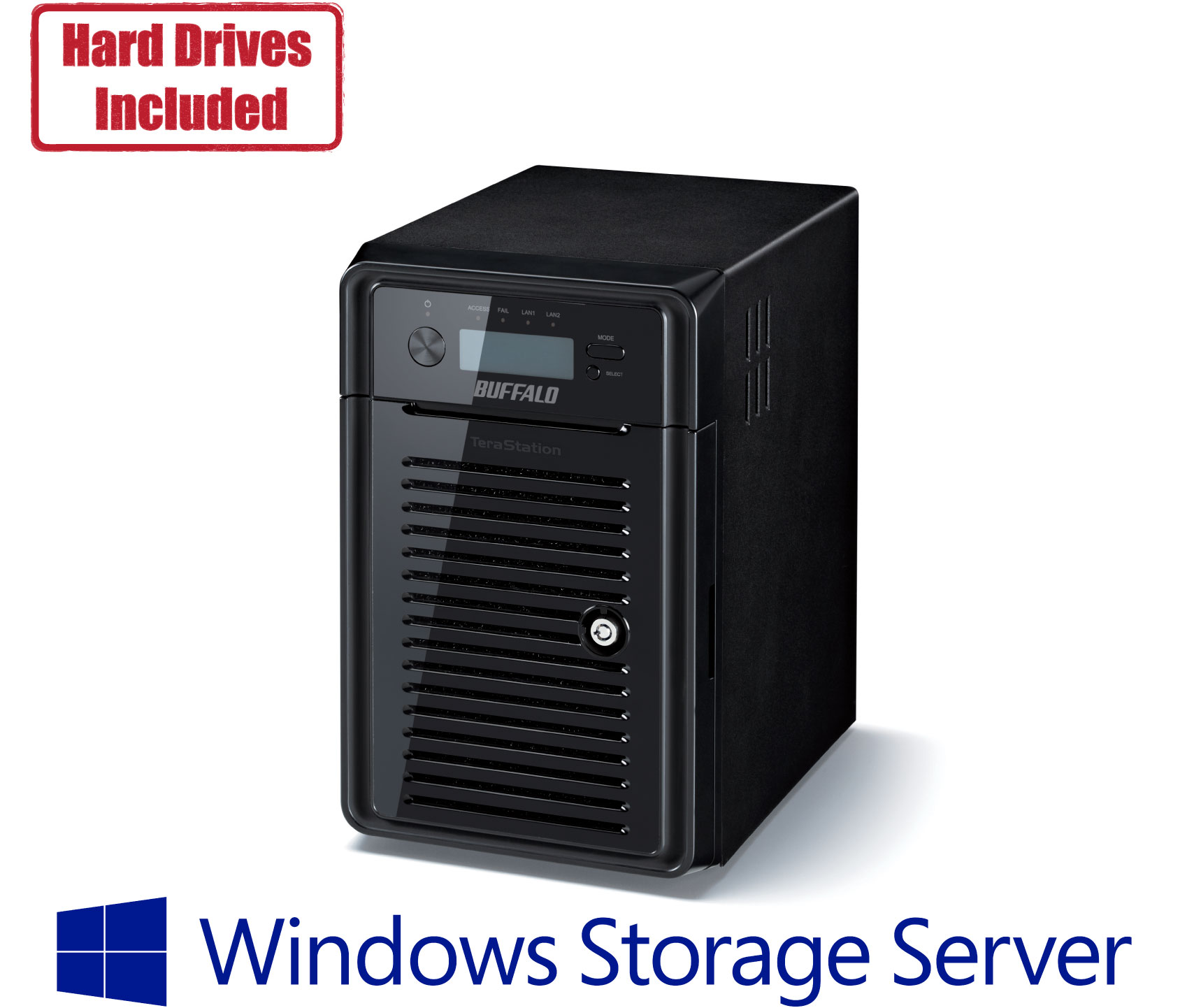 hight resolution of buffalo s ws5020 network attached storage with windows storage server 2016