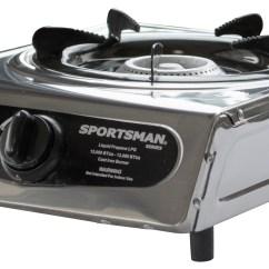 Propane Kitchen Stove Viking Kitchens Sportsman Series Portable Single Burner Camping Gas
