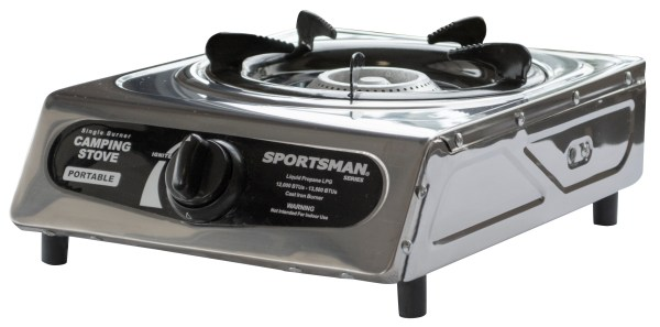 Sportsman Series Portable Single Burner Camping Stove Gas Propane Lp Cooking