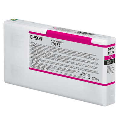 Epson T913300 UltraChrome HDX Vivid Magenta Ink Cartridge (200 ml)