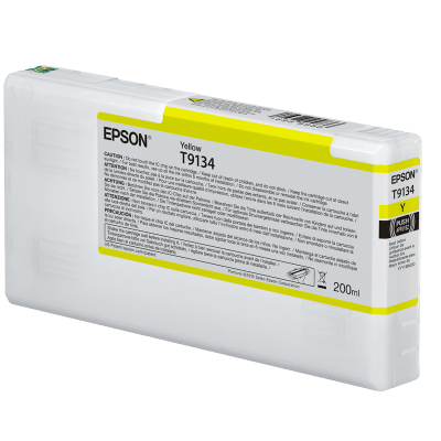 Epson T913400 UltraChrome HDX Yellow Ink Cartridge (200 ml)