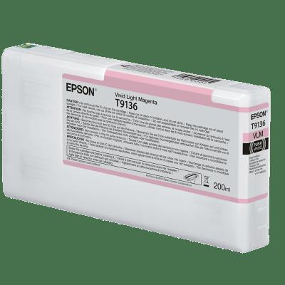 Epson T913600 UltraChrome HDX Vivd Light Magenta Ink Cartridge (200 ml)