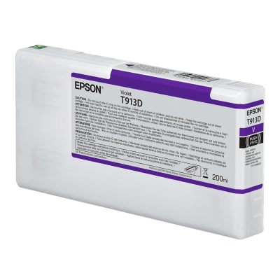 Epson T913D00 UltraChrome HDX Violet Ink Cartridge (200 ml)